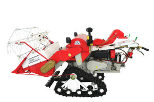 Small Farming Harvester for Harvesting Rice, Wheat, Barley, Rape, and Oat