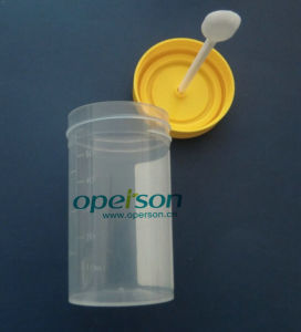 Medical Plastic Urine Cup with Various Sizes pictures & photos