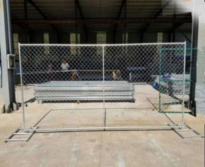 USA Standard 6FT*10FT Galvanized Temporary Construction Chain Link Fence pictures & photos
