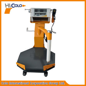 Vibratory Box Feed Powder Coating Machine with New Trolley pictures & photos