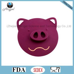 Big Pig Silicone Suction Lid Silicone Food Cover SL05