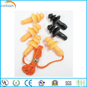 Swimming Wholesale High Quality Silicon Earplugs for Safety pictures & photos