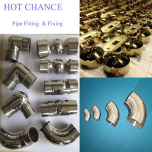 SUS201, 304, 316 Stainless Steel Welded Pipe Accessories pictures & photos