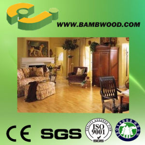 Cheap Horizontal Carbonized Solid Bamboo Flooring-Ej pictures & photos