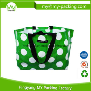Recycled Folded PP Woven Waterproof Promotion Bags pictures & photos