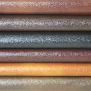High Quality Industrial Synthetic PVC Leather for Sofa Furniture Making pictures & photos