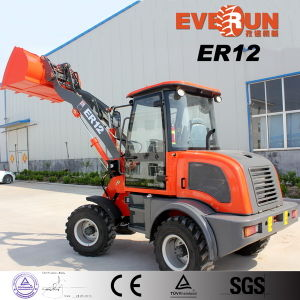 Qingdao Everun Er12 Mini Farm Wooden Forks Front Loader with Euroiii Engine pictures & photos