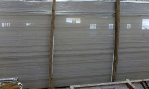 Beautiful Athens Grey Wooden Marble for Tile, Slab pictures & photos