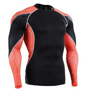 Wholesale High Quality Custom Sublimated Lycra MMA Rash Guard