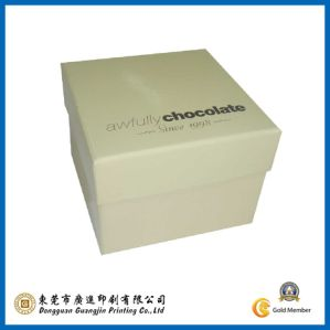 Customized Paper Chocolate Box (GJ-box015) pictures & photos