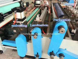 Automatic Maxi Roll Rewinding Slitting Small Bobbin Rolls Machine pictures & photos