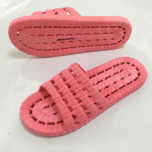 New Style Fashion Hollow out Women PVC Bath Slippers (HK-15011) pictures & photos