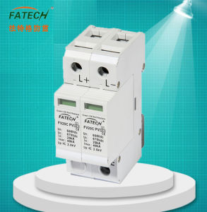 1000VDC Surge Arrester Photovolatic System Lightning Surge Protection Device pictures & photos