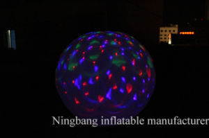 Hot Sell Advertising LED Lighting Inflatable Balloon/Ball for Party Decoration