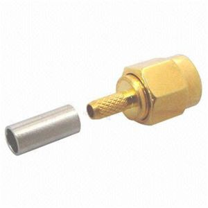 SMA Male Straight Crimp Type RF Connector
