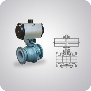 Lined Ball Valve China Supplier pictures & photos