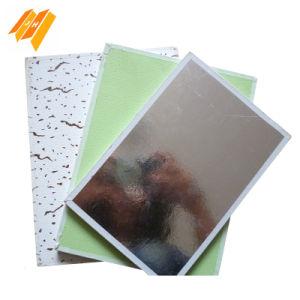 Aluminum Foil Backside PVC Vinyl Laminated Gypsum Ceiling Tile pictures & photos