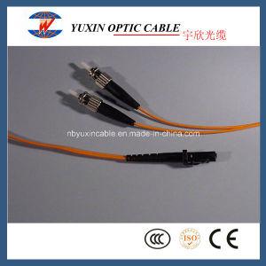 MTRJ-St Multimode Duplex Fiber Optic Patch Cable (50/125)