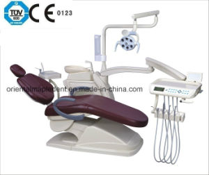 Dental Unit Chair with CE & ISO/Dental Equipment (OM-DC208Q2) pictures & photos