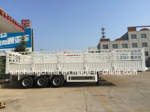 3 Axles Heavy Duty Storage Stake Cargo Semi Trailer pictures & photos