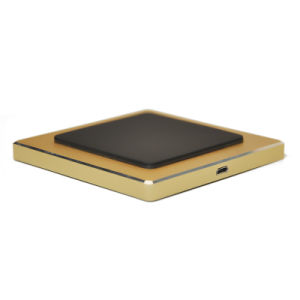 Gold Fast Wireless Charger for Export pictures & photos