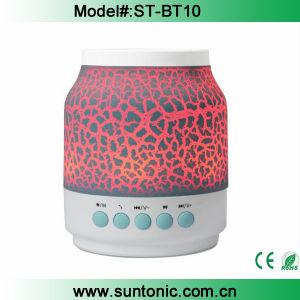 New LED Bluetooth Speaker Light up Audio Player Colors Light Bluetooth Speaker