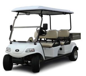 4 Seater Golf Cart with Cargo Box / Electric Cargo Hopper pictures & photos
