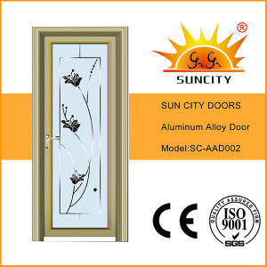 Aluminium Glass Swing Door Sc-Aad002 pictures & photos