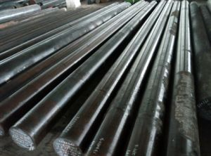 Round Shape S355j2g3 Steel Bars Hot Forged Solid Steel Bar pictures & photos
