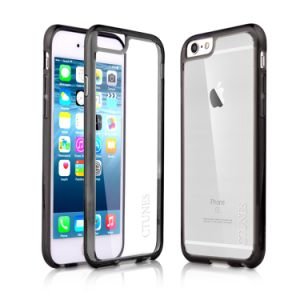 Black Transparent Case with Hard Clear Back Panel for iPhone 6s pictures & photos