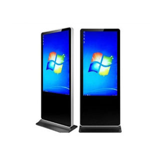 Simple Style X86 Cabinet-Type Online Version Advertising Machine pictures & photos