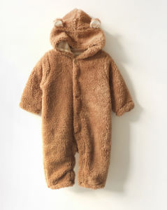 Hot-Selling in Occident Comfortable 100%Organic Cotton Thick Warm Baby Romper pictures & photos