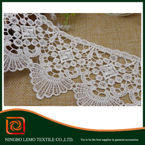 Good Quality Water Soluble Fabric Chemical Lace pictures & photos