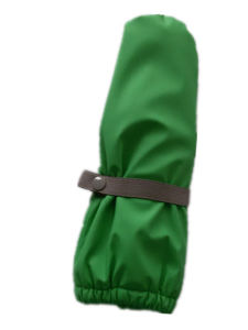 Green Solid PU Rain Mitten for Baby/Child pictures & photos