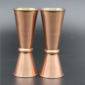30/60 Oz Coppering Stainless Steel Vodka Shot Glass Graduated Mug pictures & photos