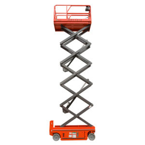 Hot Sell! Jcpt1212HD Hydraulic Aerial Working Platform Self-Propelled Scissor Lift