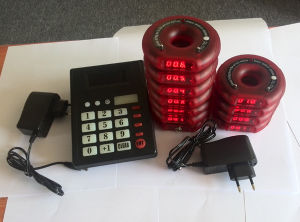 Hot Selling Ce Wireless Queue Pager System pictures & photos