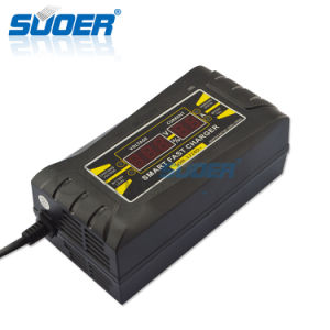 Suoer LCD Display Universal Battery Charger 12 Volt Battery Charger (SON-1210D+) pictures & photos