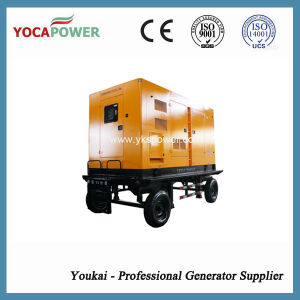300kw Electric Silent Diesel Generator Mobile Power Genset pictures & photos