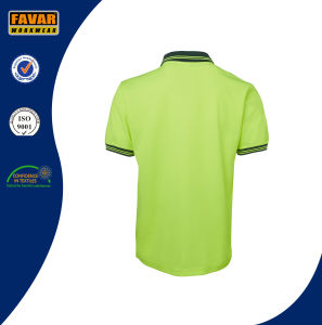 Hi Vis Two Tone Color Work Polo Shirt pictures & photos