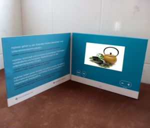 7 Inch TFT Video Card/Brochure/Book pictures & photos