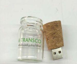 2g Lash Drive - Single Item - USB 2.0 Message in a Bottle Design - Bottle with Cork Flash Drive pictures & photos