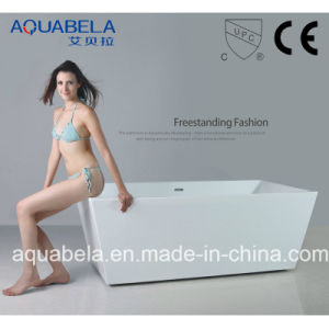Cupc Approved Sanitary Ware Freestanding Acrylic Bathtub Shower Encloser (JL608) pictures & photos