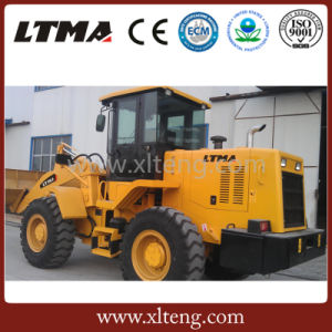 Ltma New 2.5m3 Bucket Capacity 4000kg Wheel Loader pictures & photos