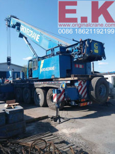 180ton Used Grove Hydraulic Mobile Crane Construction Equipment (GMK5180) pictures & photos
