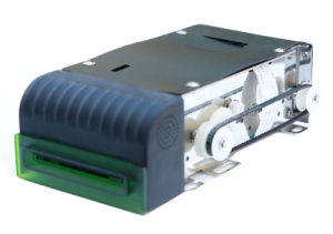 Magnetic Stripe/RFID/IC Motorized Card Reader for ATM pictures & photos