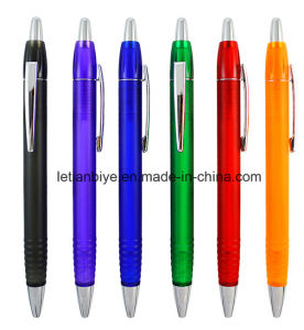 Promotional Plastic Ball Pen Free Samples (LT-A033) pictures & photos
