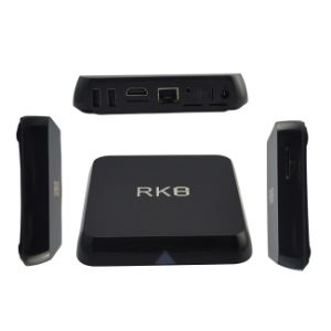 Rk3368 Octa Core 2g+8g HD Rk8 Android Smart TV Box pictures & photos