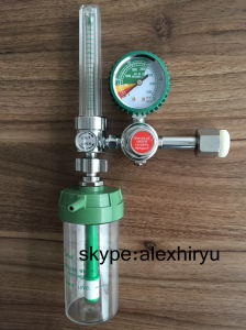 Medical Oxygen Gas Gauge Regulator Medical Oxygen Flowmeter pictures & photos