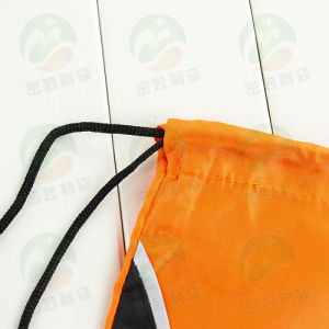 Customer Printed Polyester Waterproof Backpack Drawstring Bag M. Y. D-007 pictures & photos